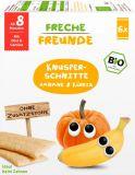 6x FRECHE FREUNDE BIO Oblátky chrumkavé Banán a tekvica 8 m, 14 g