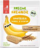 FRECHE FREUNDE BIO Sušienky Špalda a banán 8 m, 100 g