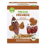 FRECHE FREUNDE BIO Sušienky kakaové s kúskami datlí 12 m, 125 g