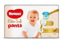 HUGGIES Elite Soft Pants jednorázové pleny vel. 4, 56 ks