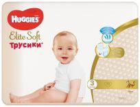 HUGGIES Elite Soft Pants jednorázové pleny vel. 3, 72 ks
