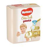 4x HUGGIES Elite Soft Pants jednorázové pleny vel. 5, 19 ks