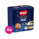 4x HUGGIES Elite Soft Pants OVN jednorázové pleny vel. 4, 19 ks