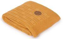 CEBA Deka pletená v dárkovém balení 90 x 90 Rybí kost Peru