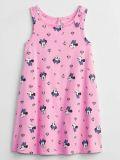 GAP Šaty Pink Minnie Mouse dívka 3r