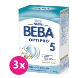 3x NESTLÉ BEBA 5 OPTIPRO (600 g) - kojenecké mléko