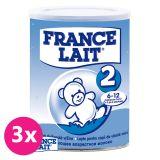 3x FRANCE LAIT 2 (400 g) - kojenecké mléko