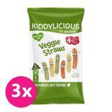3x KIDDYLICIOUS Tyčinky - Zeleninové, 12 g