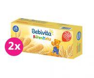 2x BEBIVITA Medvedie sušienky 180 g
