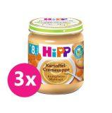 3x HiPP BIO Krémová polévka - bramborová se zeleninou 200 g, od uk. 7. měsíce