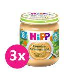 3x HiPP BIO Krémová polévka - zeleninová 200 g, od uk. 7. měsíce