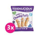 3x KIDDYLICIOUS Chrumky – Čučoriedka 12 g
