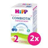 2x HiPP 2 BIO Combiotik - pokračovací mléčná kojenecká výživa, 700 g
