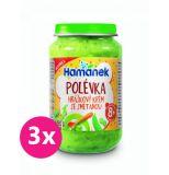 3x HAMÁNEK Polévka hráškový krém se smetanou 190 g