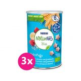 3x NESTLÉ NaturNes BIO křupky malinové 35 g