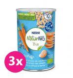 3x NESTLÉ NaturNes BIO chrumky mrkvové 5 35 g