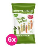 6x KIDDYLICIOUS Zeleninové tyčinky