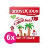 6x KIDDYLICIOUS Mini jahodové trubičky