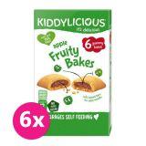 6x KIDDYLICIOUS Jablkové koláčiky