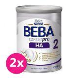 2x BEBA EXPERTpro HA 2, mliečna dojčenská výživa 800 g