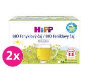 2x HiPP BIO fenyklový čaj 20x1,5 g