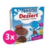 3x NESTLÉ Baby Dessert kakaový (4x100 g)