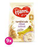 9x HAMI Nemléčná kaše rýžová banánová 170 g