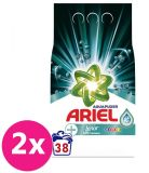 2x ARIEL AquaPuder Touch Of LENOR Color prací prášek 38 pd