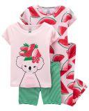 CARTER'S Pyžamo dlhé a krátke nohavice, krátky rukáv 2ks Watermelon dievča 24m