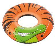 BESTWAY Kruh nafukovací - River Gator, průměr 119cm