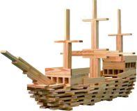 TEDDIES Prkna/Desky stavební dřevo 250 ks 18m+
