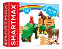 SMARTMAX Můj první traktor- 22 ks
