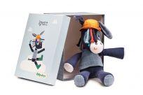 LILLIPUTIENS Oslík Ignác - hračka na mazlení