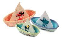 LILLIPUTIENS 3 plovoucí lodičky - džungle - hračka do vody