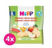 4x HIPP BIO Oplatky dětské rýžové jablkové 30g