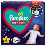 PAMPERS Night Pants Veľkosť 3, 29 ks, 6-11  kg