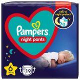 PAMPERS Night Pants Veľkosť 6, 19 ks, 15  kg+