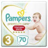 PAMPERS Premium Care Pants Velikost 3, 70 ks