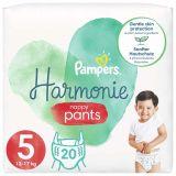 PAMPERS Harmonie Plienkové nohavičky Veľkosť 5, 20 ks, 12-17  kg