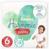 PAMPERS Harmonie Plienkové nohavičky Veľkosť 6, 18 ks, 15  kg+
