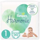 PAMPERS Harmonie Velikost 1, 50 ks, 2-5  kg