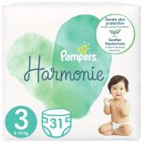 PAMPERS Harmonie Veľkosť 3, 31 ks, 6-10  kg
