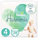 PAMPERS Harmonie Veľkosť 4, 28 ks, 9-14  kg
