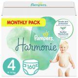PAMPERS Harmonie Velikost 4, 160 ks, 9-14  kg