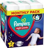 PAMPERS Night Pants Veľkosť 3, 116 ks, 6-11 kg