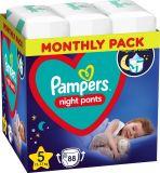 PAMPERS Night Pants Veľkosť 5, 88 ks, 12-17 kg