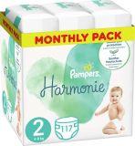PAMPERS Harmonie Veľkosť 2, 117 ks, 4-8 kg