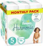 PAMPERS Harmonie Plenky Velikost 5, 96 ks, 11-16 kg