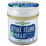 PURITY VISION Bio Maslo detské telové 120 ml