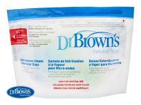 DR.BROWN'S Kapsy na sterilizaci v mikrovlnné troubě 5ks